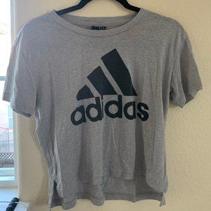 Adidas Cropped Athletic Tee